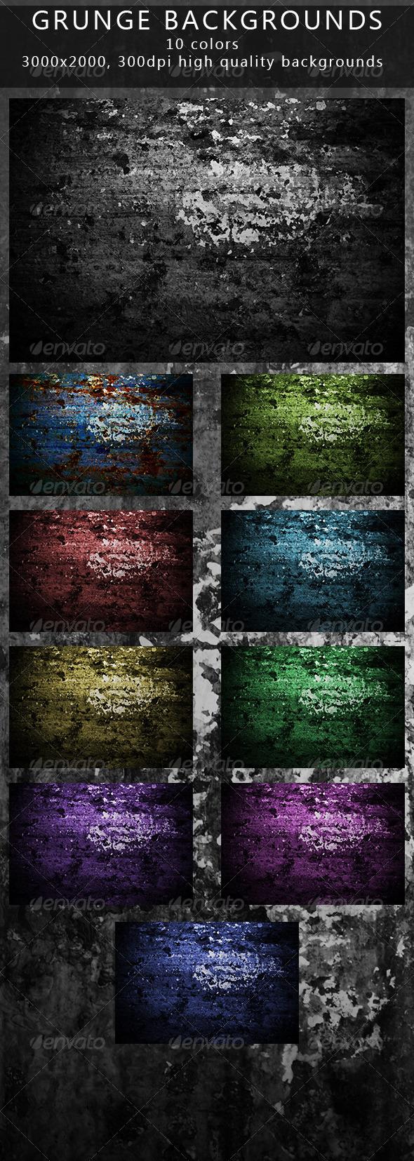 Grunge Backgrounds - Urban Backgrounds