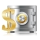 Realistic Steel Safe Icon Security Concept - GraphicRiver Item for Sale