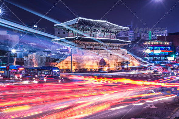 Seoul Cityscape - Stock Photo - Images