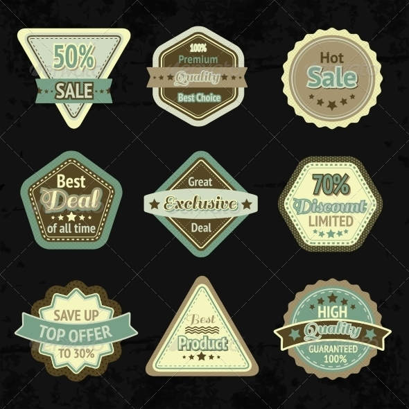 Labels - Retail Commercial / Shopping