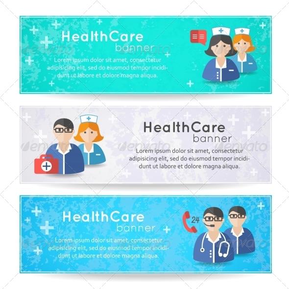 Medicine Banners - Health/Medicine Conceptual