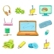 Business Computer Icons Set - GraphicRiver Item for Sale