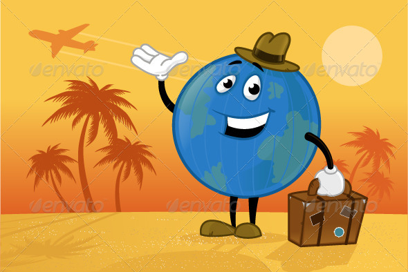 World Traveler - Characters Vectors