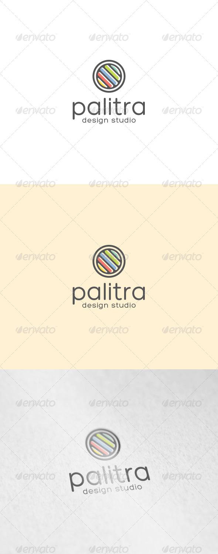 Palitra Logo - Abstract Logo Templates