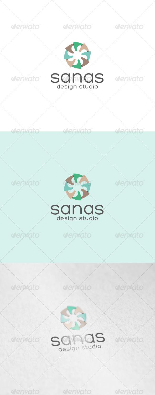 Sanas Logo - Abstract Logo Templates
