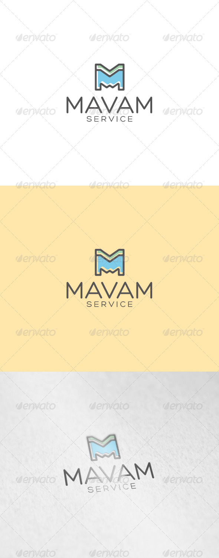 Mavam Logo - Letters Logo Templates