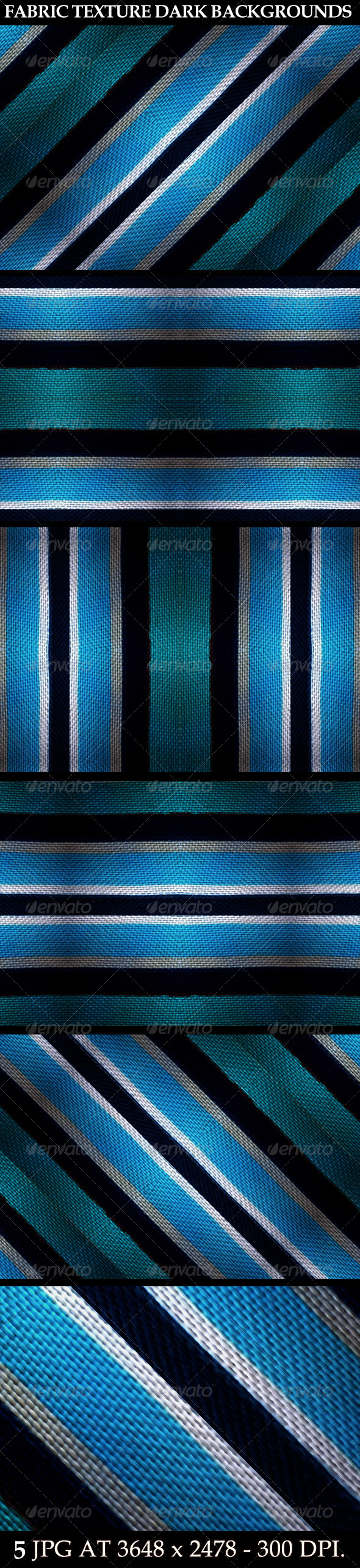 5 Fabric Texture Dark Backgrounds - Tech / Futuristic Backgrounds