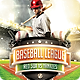 Baseball League Flyer Template - GraphicRiver Item for Sale