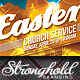 Download Easter Sunday Church Service Flyer Template from GraphicRiver