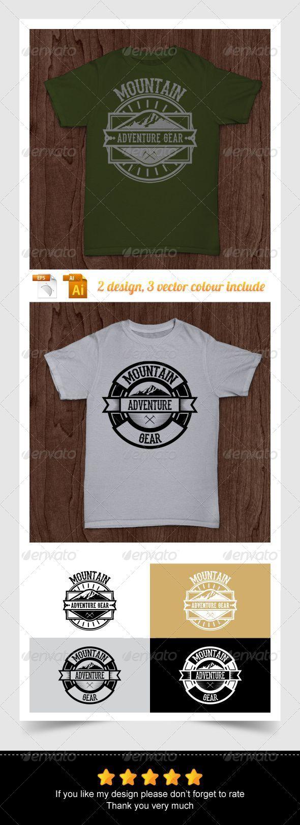 Mountain Adventure Gear - Sports & Teams T-Shirts