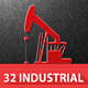 32 Industrial Icons - GraphicRiver Item for Sale