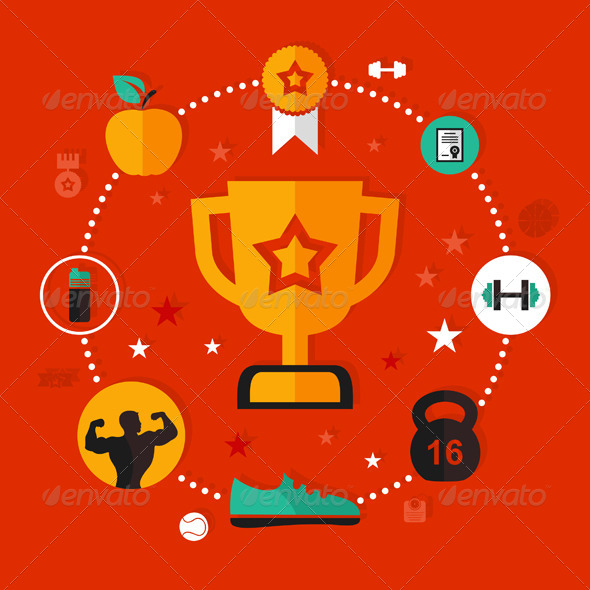 Award Sports - Miscellaneous Vectors