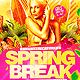Spring Break Flyer Template PSD - GraphicRiver Item for Sale