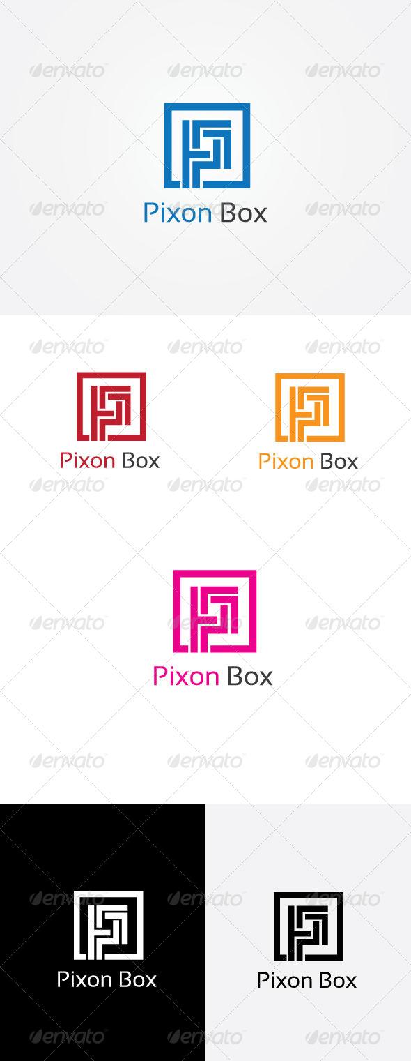 P letter box logo by priyadziner graphicriver p letter box logo letters logo templates spiritdancerdesigns Gallery