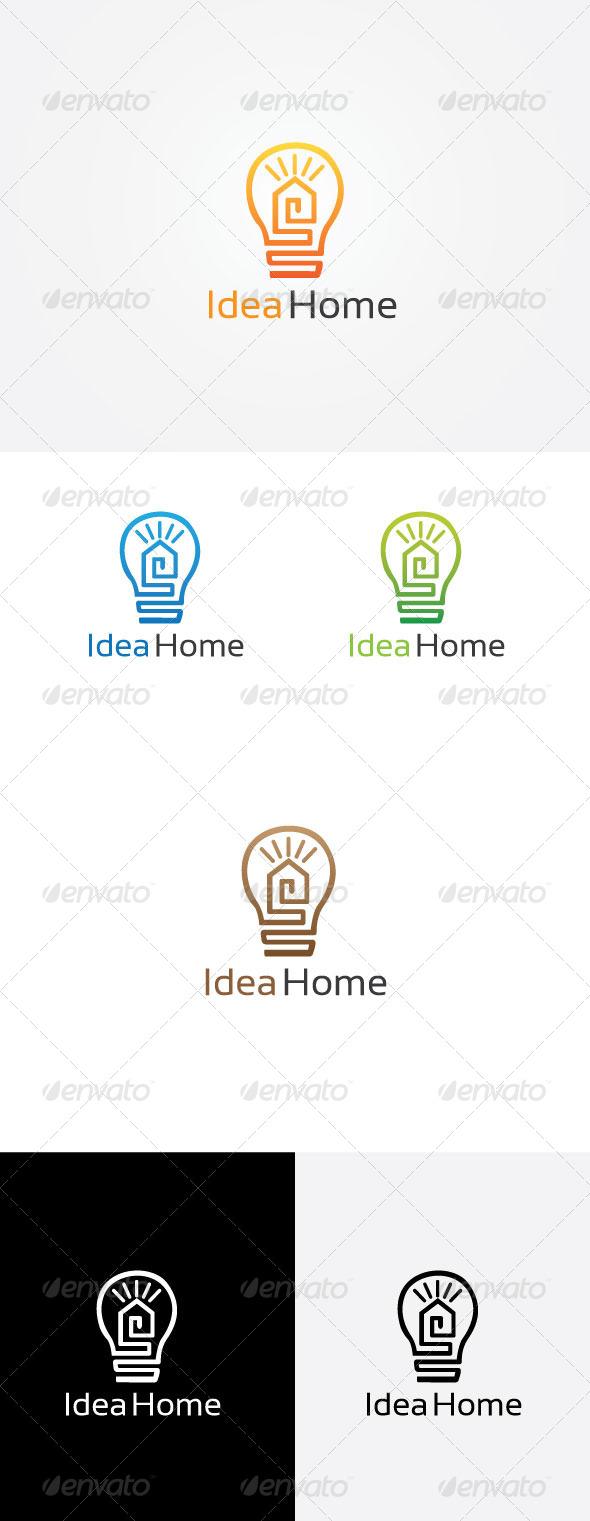 Idea House Logo - Symbols Logo Templates