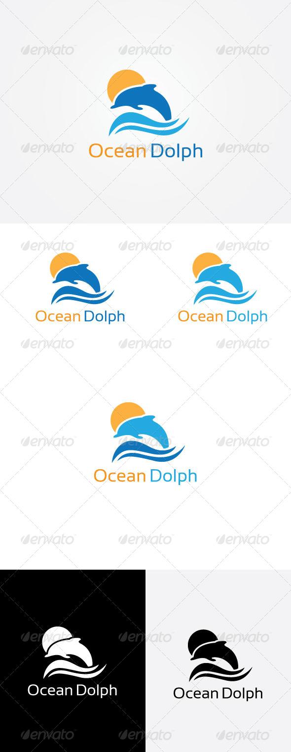 Ocean Dolphin Logo - Animals Logo Templates