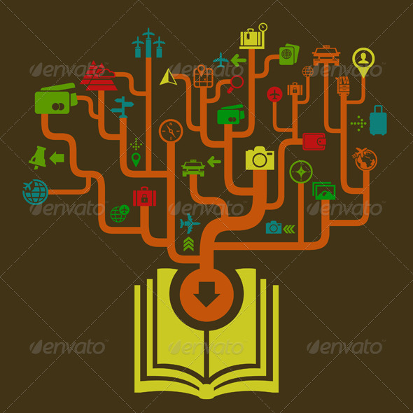 Travel the Book - Miscellaneous Vectors