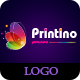 Printino Logo and Wallpapers - GraphicRiver Item for Sale