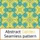Abstract Seamless Golden Pattern - GraphicRiver Item for Sale