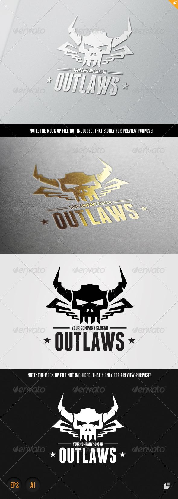 Outlaws Logo - Crests Logo Templates