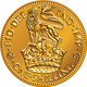 British Money Gold Coin Shilling with Lion Crown - GraphicRiver Item for Sale