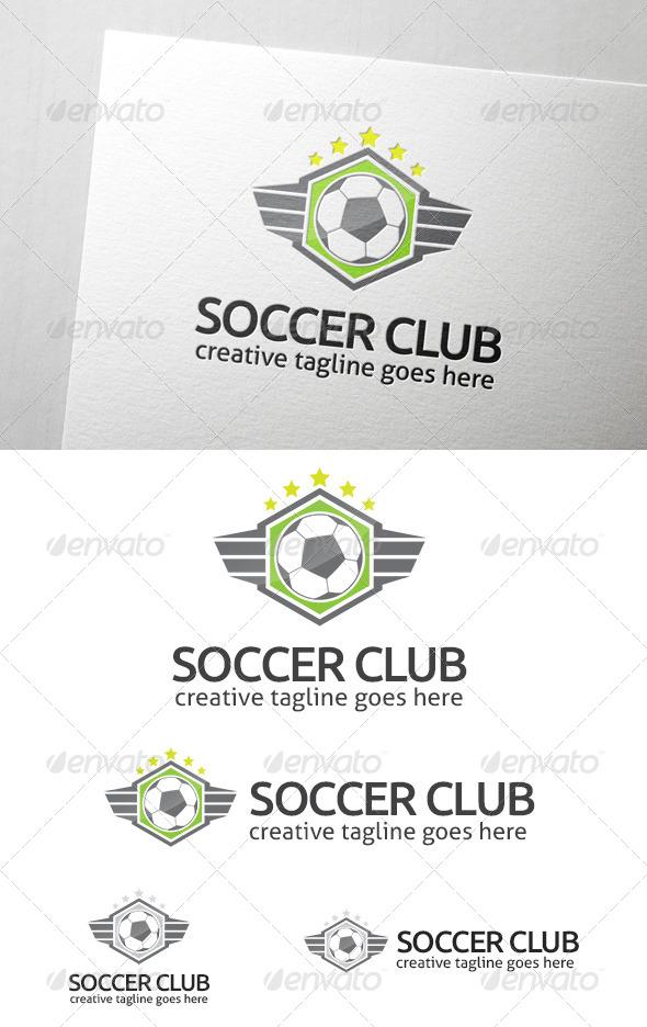 Soccer Club Logo - Crests Logo Templates