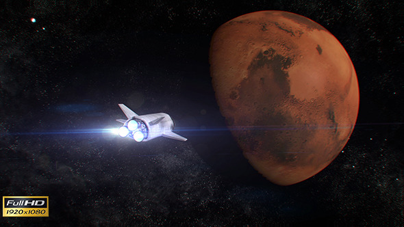 Space Mission to Mars by blohslv | VideoHive