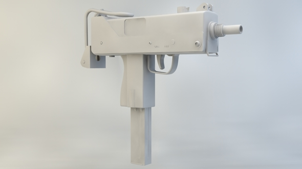 MAC 10 - 3DOcean Item for Sale