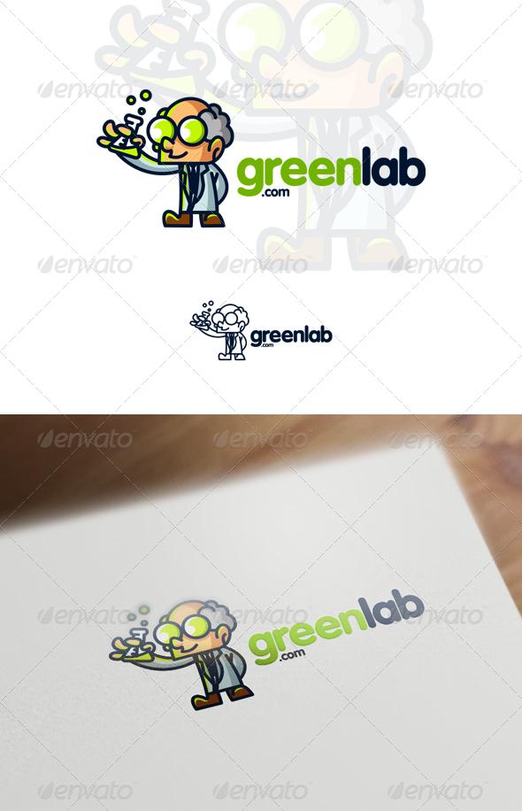 Professor / Scientist Mascot Logo  - Humans Logo Templates