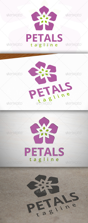 Petals Logo - Nature Logo Templates