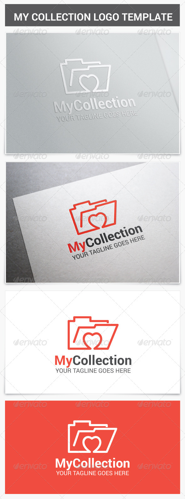 My Collection Logo - Vector Abstract