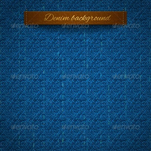 Realistic Denim - Backgrounds Decorative