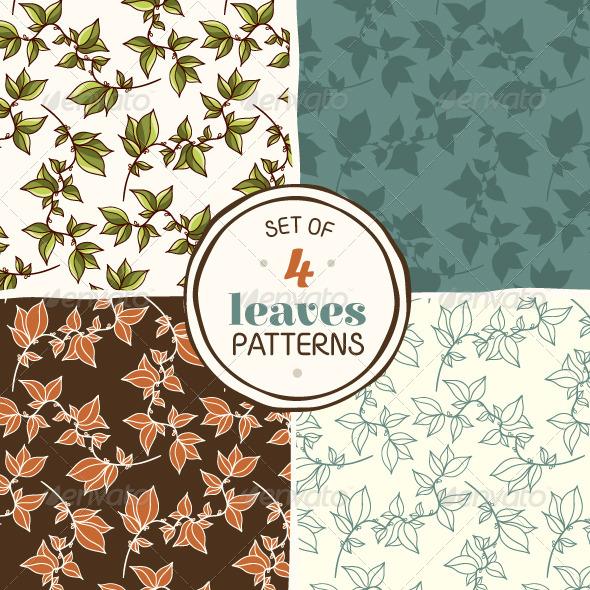 Set of Seamless Patterns - Patterns Decorative