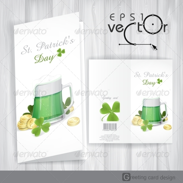 Mug of Green Beer for St Patrick's Day - Miscellaneous Seasons/Holidays