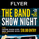 The Band Show | Flyer Template - GraphicRiver Item for Sale