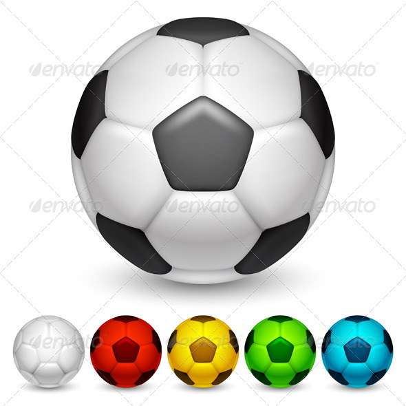 Soccer Balls - Sports/Activity Conceptual