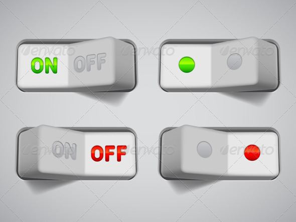On and Off Switches - Technology Conceptual