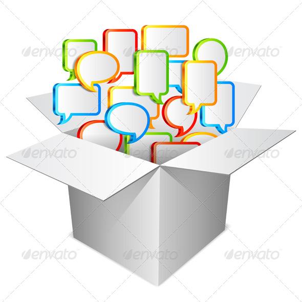Communication Concept - Communications Technology