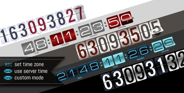 Download jQuery Responsive Countdown with Visual Builder nulled version