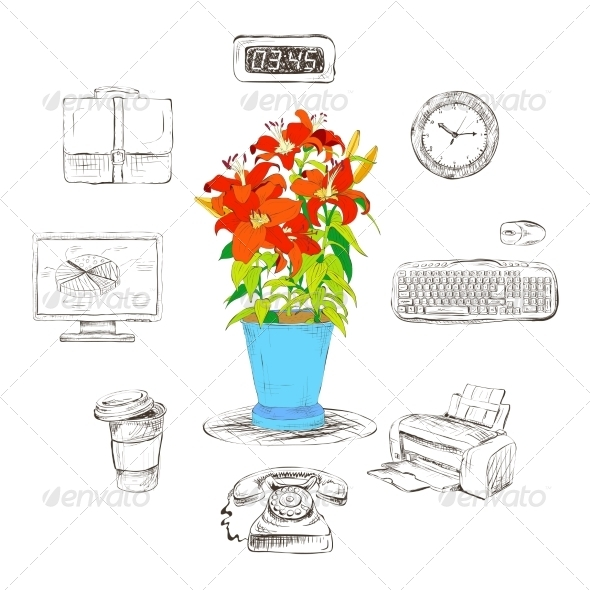 Business Graphics - Web Elements Vectors