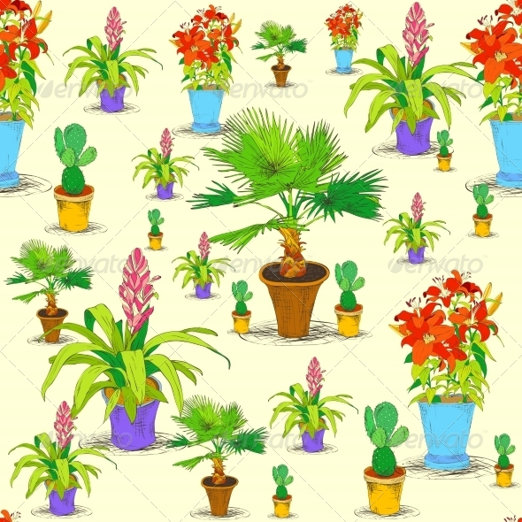 Flower Pattern - Backgrounds Business
