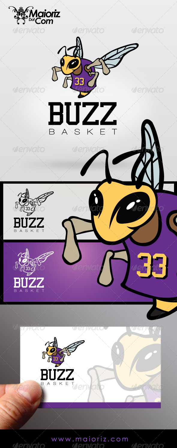 Buzz Basket Logo - Animals Logo Templates