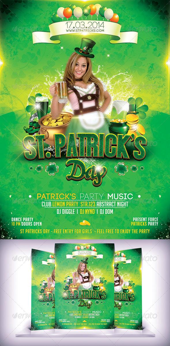 St. Patricks Day Flyer - Flyers Print Templates