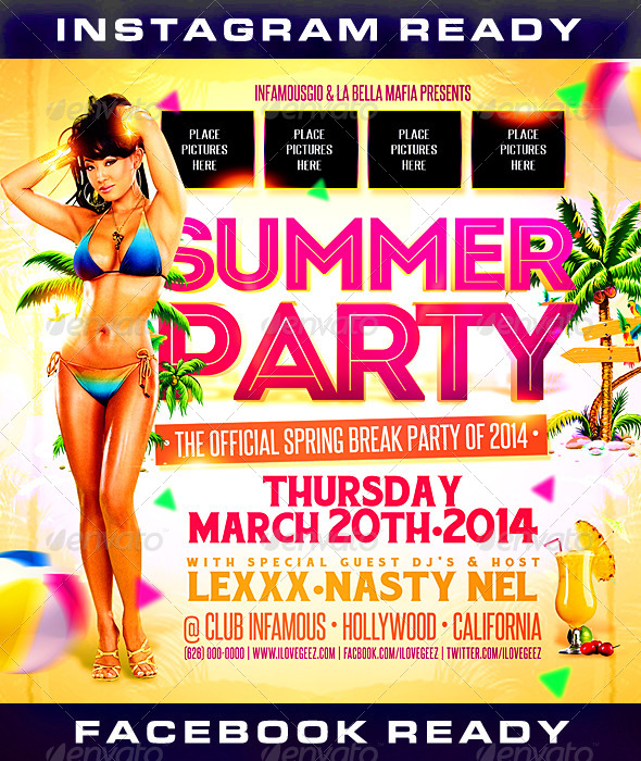 Spring Break 1 - Clubs & Parties Events