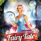 Fairy Tale Fantasy Mystical Party Flyer Design - GraphicRiver Item for Sale