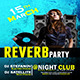 Reverb Party Flyer Template - GraphicRiver Item for Sale