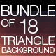 Bundle triangle background - GraphicRiver Item for Sale