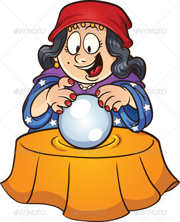 Crystal Ball - People Characters