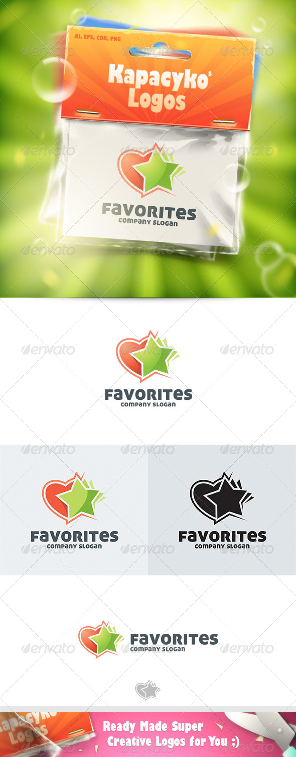 Favorites Logo - Symbols Logo Templates