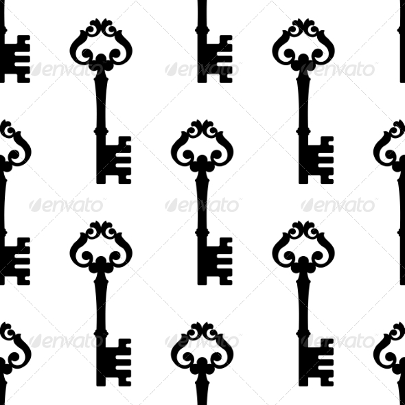 Key Pattern - Patterns Decorative